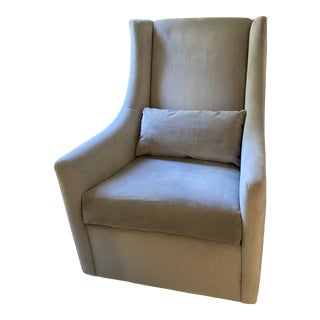 West Elm Graham Glider Rocking Chair For Sale