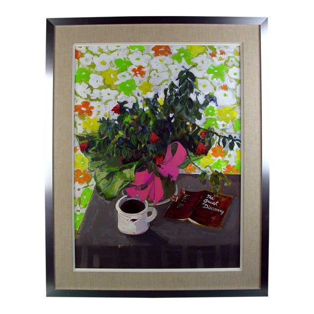 Morning Coffee Still Life Painting For Sale