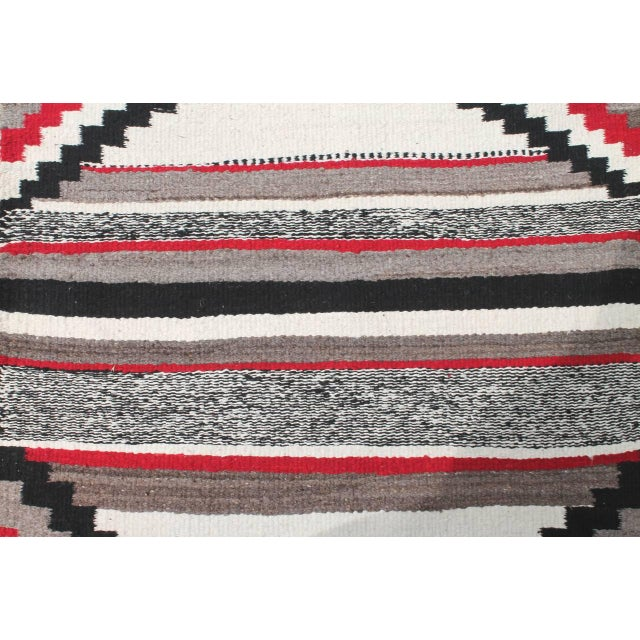 This wonderful geometric weaving is simple yet geometric pattern. The condition is pristine. It has a look of a third...
