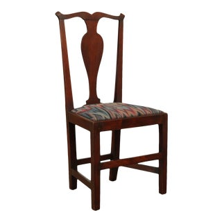 Chippendale Style Antique 19th Century Mahogany Side Chair For Sale