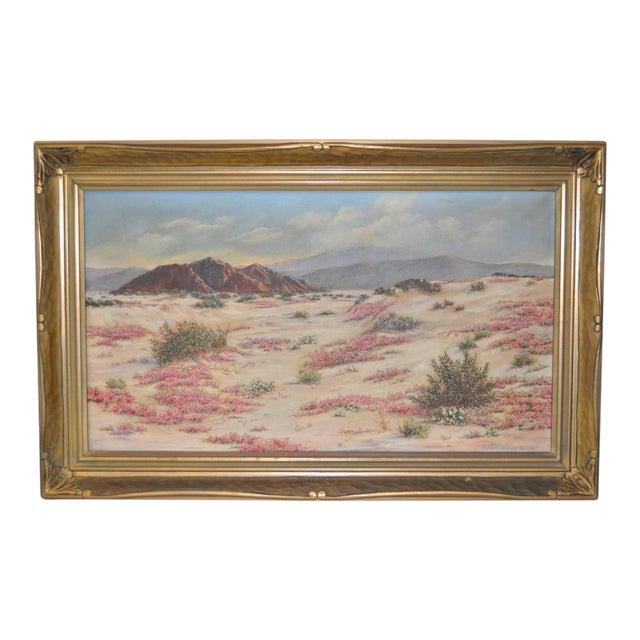 Elizabeth Hewlett Watkins California Desert Landscape Painting - Image 1 of 10