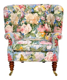 Image of English Traditional Wingback Chairs