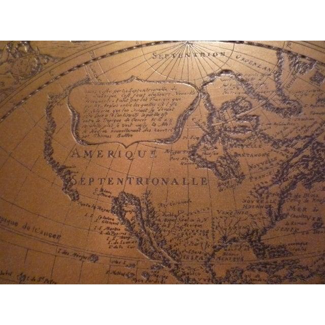 Handmade Bronze Brass Map - Image 4 of 7
