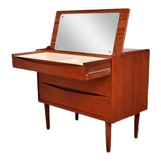 Arne Vodder Secretary Vanity Desk Dresser for Sibast For Sale