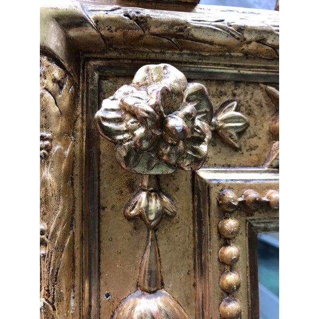 Louis XVI Pareclose 19th Century Mirror For Sale - Image 3 of 7