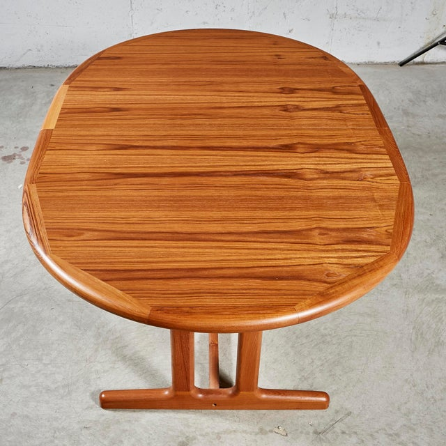 1970s Teak Dining Table & Chairs For Sale - Image 10 of 13