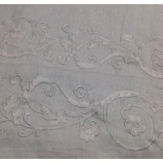 Ralph Lauren Pirou Embroidery Fabric For Sale