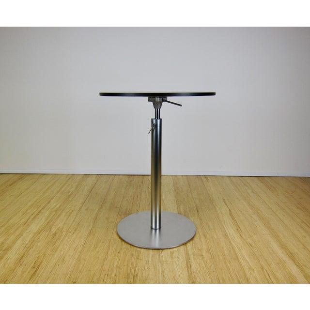 """LaPalma Contemporary Romano Marcato Lapalma """"Brio"""" Bistro/Bar Table For Sale - Image 4 of 10"""