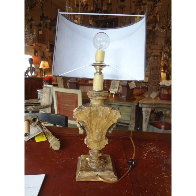 Italian 19th Century Single Lamp For Sale In New Orleans - Image 6 of 11