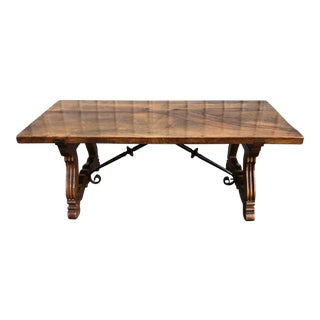 20th Century Spanish Colonial Revival Coffee Table For Sale