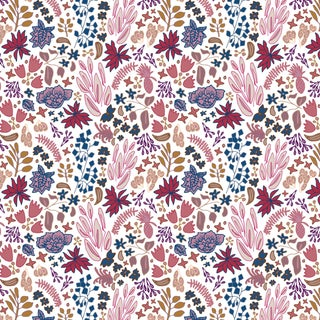House of Harris Cambridge Fabric, Jewel Multi For Sale