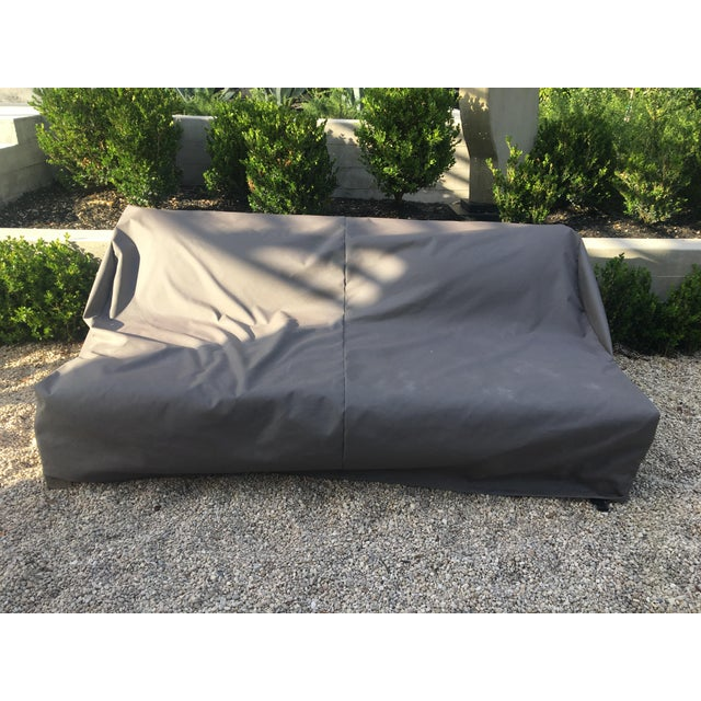 Contemporary Contemporary Linen Weave Merida Sofa For Sale - Image 3 of 6