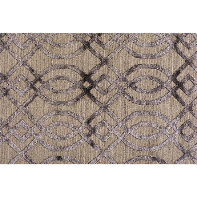 2010s Stark Studio Rugs Contemporary Ridgemore Oak Silk Rug - 9′1″ × 11′11″ For Sale - Image 5 of 5
