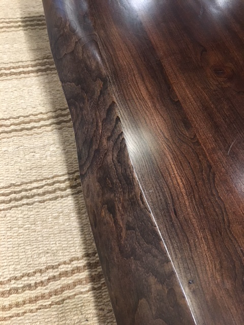 Harden Winchester Live Edge Dining Table Showroom Sample   Image 5 Of 7