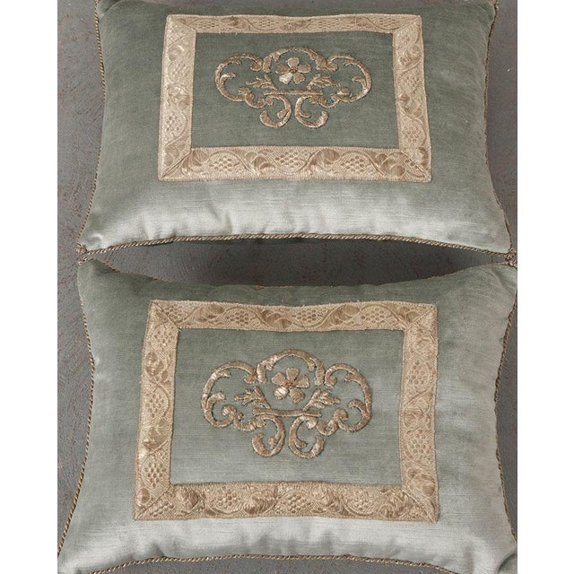 Antique Textile Pillow By B.Viz Designs - Image 5 of 8