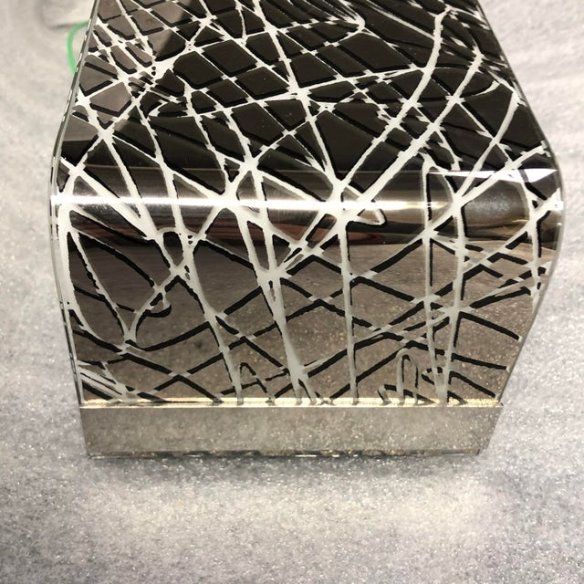 Leucos Block P29 Wall Sconce Platinum Finish For Sale In Washington DC - Image 6 of 8