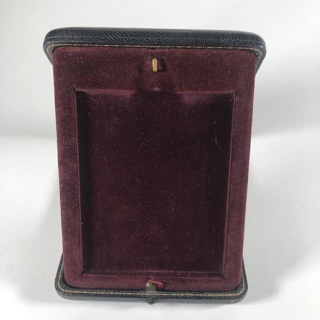 French Antique Bronze Travelling Picture Frame For Sale - Image 3 of 7