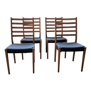 Swedish Teak Dining Chairs by Svegards Markaryd - Set of 4 For Sale