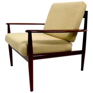 Pair of Danish Modern Chairs by Grete Jalk for France and Sons in Rosewood For Sale