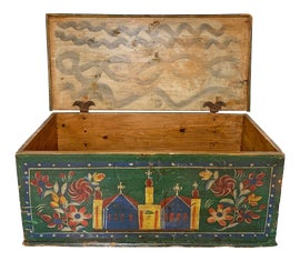 Image of Folk Art Trunks and Chests
