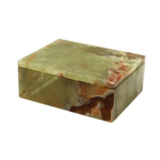 Green Marble Keepsake Box