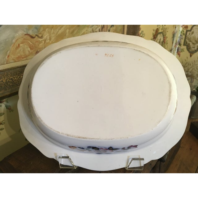1820s Antique English Masons Ironstone Deep Serving Bowl For Sale - Image 10 of 12