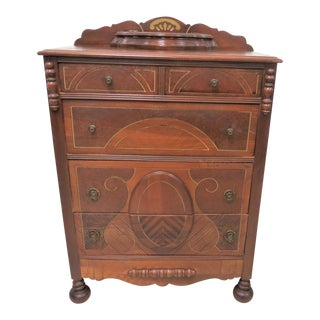 1930s Vintage American Style Chest Of Drawers For Sale
