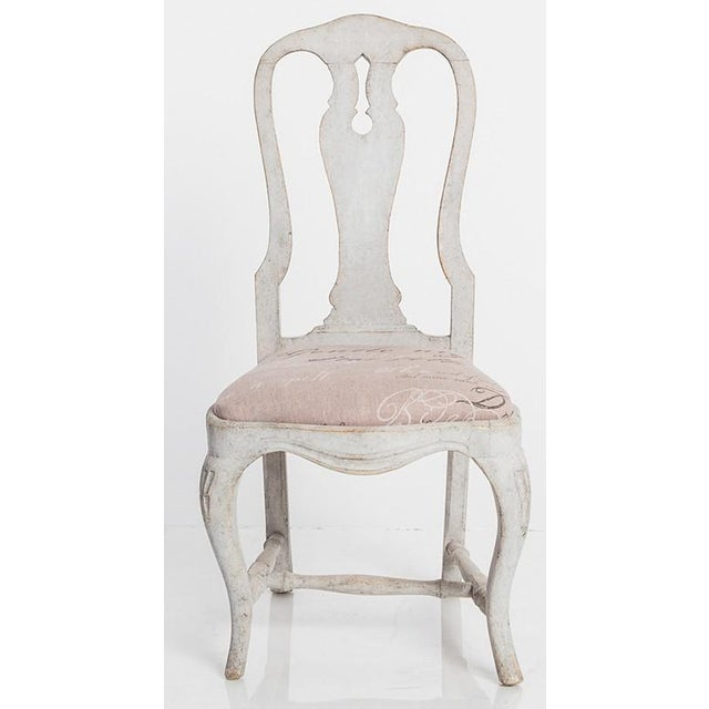 Antique Swedish Dining Chairs For Sale - Image 4 of 6