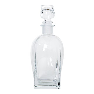 Vintage Italian Glass Decanter For Sale