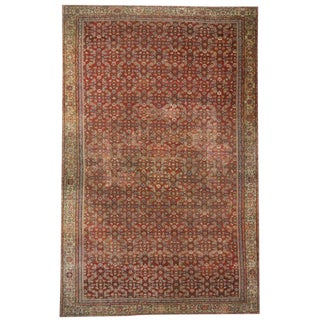 Antique Persian Farahan Rug with Modern Style