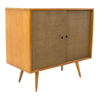 Vintage Mid-Century Paul McCobb for Planner Group Media Console / Record Cabinet For Sale