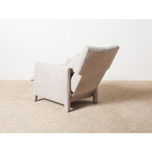 2010s Contemporary Verellen Tan Wool Upholstered Alois Recliner For Sale - Image 5 of 7
