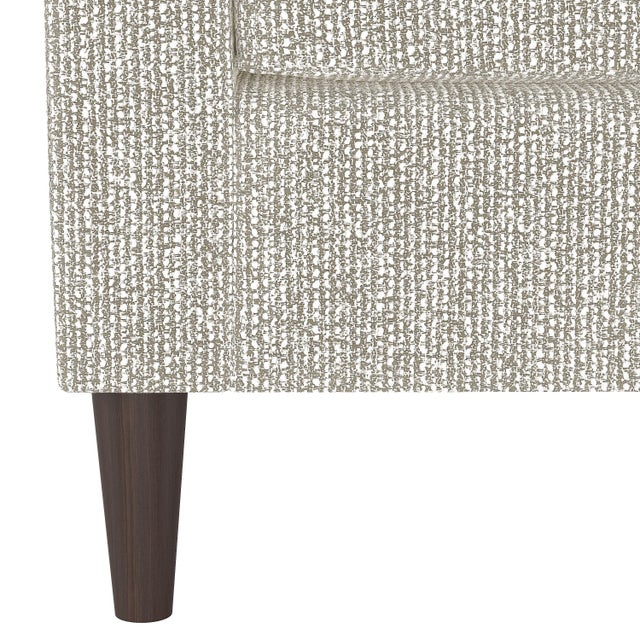 Spritely Home Armchair in Solitude Natural For Sale - Image 4 of 7