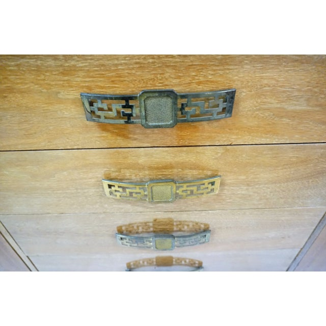 James Mont Style Asian Mid-Century Modern Sideboard For Sale - Image 4 of 8