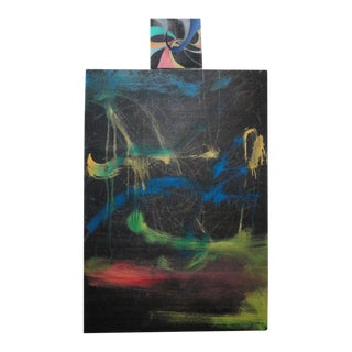 """Homage to Miró"" Abstract Oil Painting, 2005"
