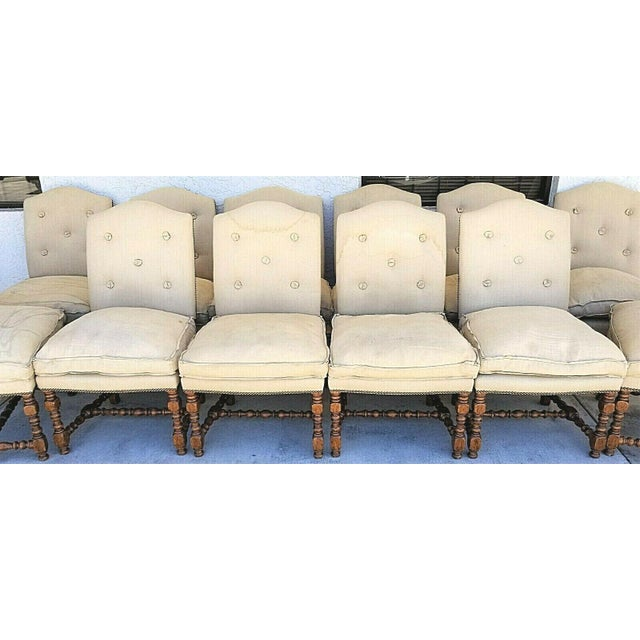 Offering one of our recent Palm Beach estate fine furniture acquisitions of a rare set of 12 Dennis and Leen Canterbury...