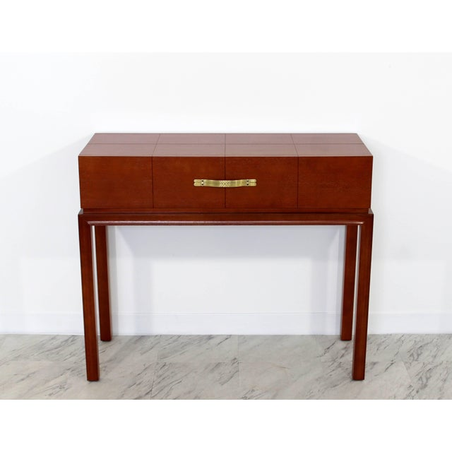 Mid-Century Modern Mid-Century Modern Tommi Parzinger for Charak Console Foyer Table, 1950s For Sale - Image 3 of 10