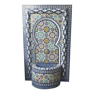 Rbatia Double Column Moroccan Fountain For Sale