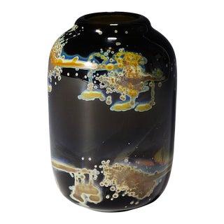 Vintage Vase 'Aomi' Designed by H. R. Janssen for Graal Glas Ca. 1970 For Sale