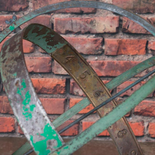 Early 21st Century Antique Style Danish Garden Armillary / Sun Clock For Sale In Denver - Image 6 of 7