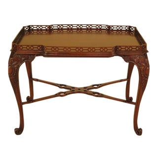 John Widdicomb Georgian Mahogany Tea Table