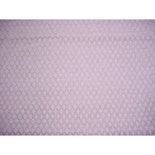 Traditional Colefax and Fowler Bertram Aqua Blue Lattice Upholstery Fabric - 5-5/8y For Sale