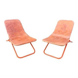 Vintage Scandinavian Lounge Chairs - A Pair