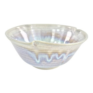 Studio Pottery Serving Bowl For Sale