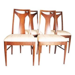 Mid-Century Modern Brasilia Style Dining Chairs - Set of 4