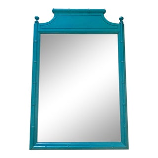 Henry Link Blue Wall Mirror For Sale
