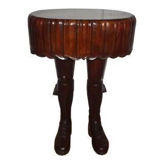 Late 20th Century Vintage Scottish Kilt Table For Sale