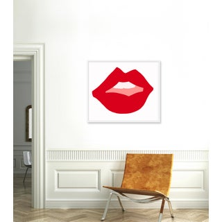 "Medium ""Kiss Me (Red)"" Print by Angela Chrusciaki Blehm, 37"" X 31"" Preview"