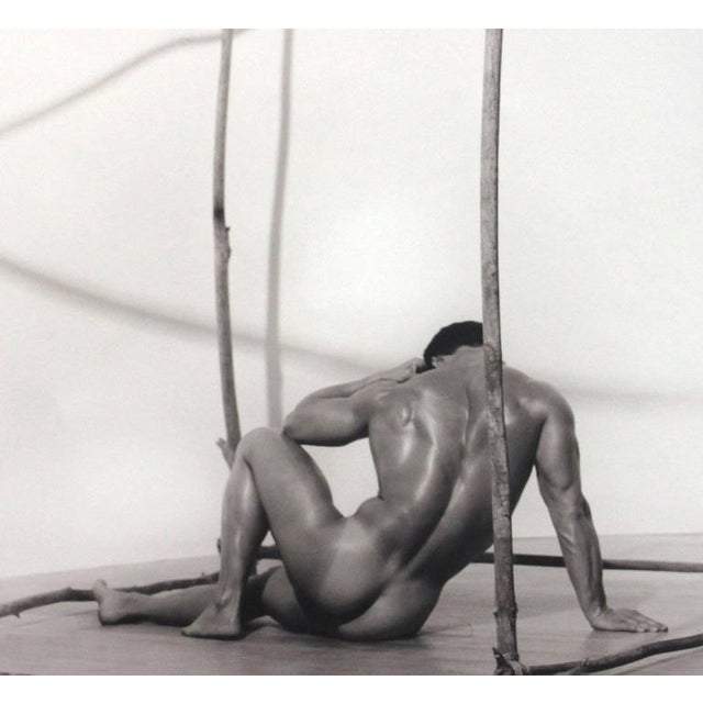 Blake little 'Untilted (Man in Cube)', 1990 Toned silver gelatin print 16 x 20 inches; 23 x 23 inches framed Edition 1 of...