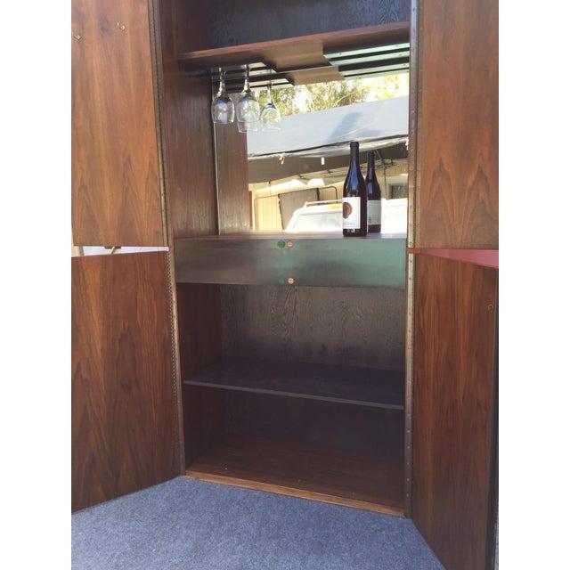 Glenn of California Mid Century Modern Wine Bar - Image 6 of 8
